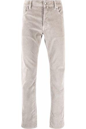 Jacob Cohen Muži Rovné nohavice - Corduroy straight-leg trousers