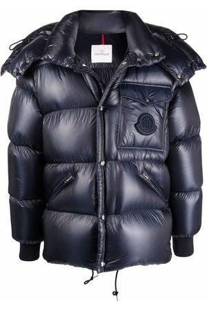 Moncler Detachable-hood padded coat