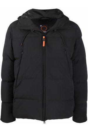 Aspesi Muži Péřové bundy - Padded hooded jacket