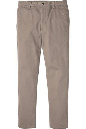 bonprix Muži Chino - Strečové chino kalhoty Slim Fit, Straight