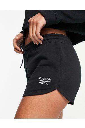 Reebok Ženy Kraťasy - Logo shorts in black