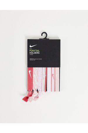 Nike Ženy Doplňky do vlasů - 9 pack of hair ties in pink