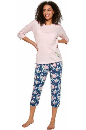 Cornette Ženy Tepláky na spaní - Dámské pyžamo 463/288 3XL