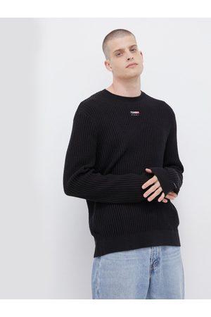 Tommy Hilfiger Muži Svetry - Pánský černý svetr