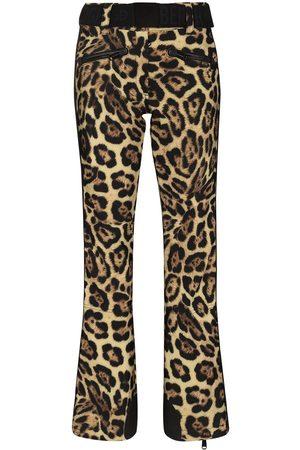 Goldbergh Jacguar leopard print ski trousers