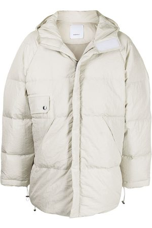Ports V Heart Earth oversized padded jacket
