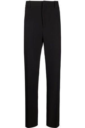 Nanushka Pressed-crease straight-leg trousers