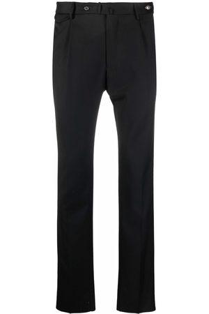TAGLIATORE Straight-leg virgin wool trousers