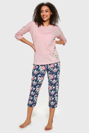 Cornette Dámské pyžamo Flower I