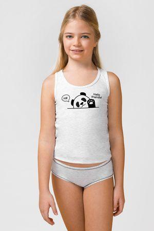 JADEA SET dívčího tílka a kalhotek Animal