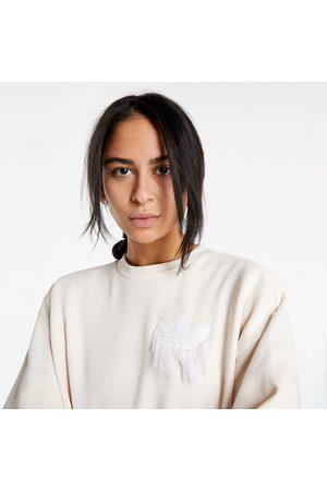adidas Ženy Mikiny bez kapuce - Adidas Sweatshirt Wonder White
