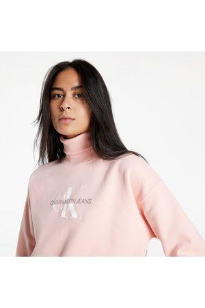 Calvin Klein Ženy Košile - Mid Scale Monogram Roll Neck Blossom