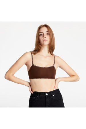 Calvin Klein Ženy Bralety - Unlined Bralette 2Pk Umber