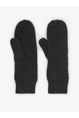 Pieces Ženy Rukavice - Černé rukavice Benilla
