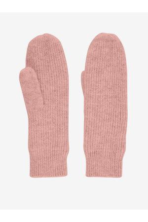 Pieces Ženy Rukavice - Růžové rukavice Benilla
