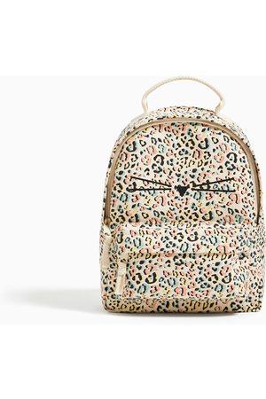 Zara Bavlněný batoh s ím potiskem