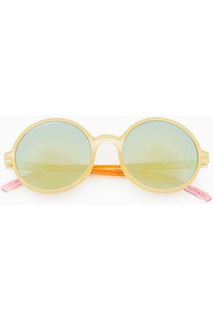 Zara Kulaté sluneční brýle tie dye