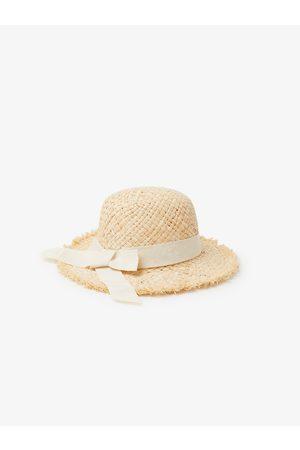 Zara Frayed straw sun hat