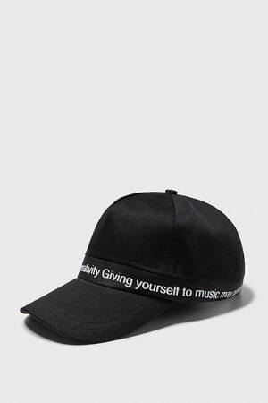 Zara čepice s kombinovaným nápisem