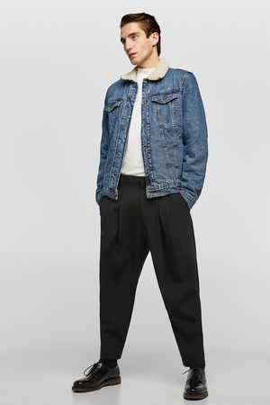 Zara Kombinovaná džínová bunda