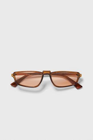 Zara Sluneční brýle obdélníkového tvaru