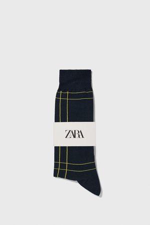 Zara Mercerizované ponožky s kostkou