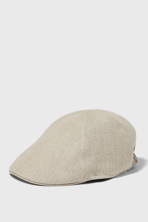 Zara Lněná čepice
