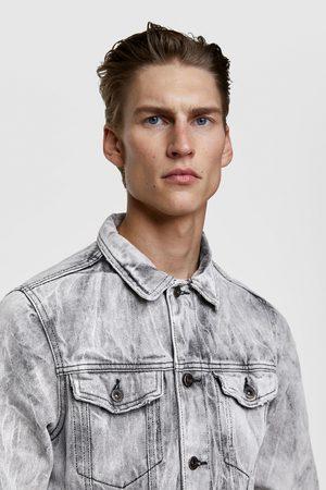 Zara Džínová bunda se zmačkaným efektem