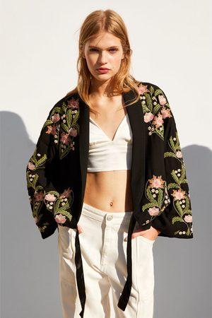 Zara Embroidered kimono