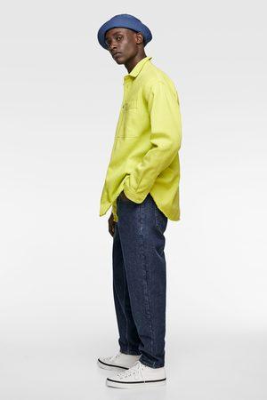 Zara Neonová džínová košile