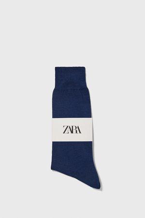 Zara Ponožky z mercerizované bavlny premium