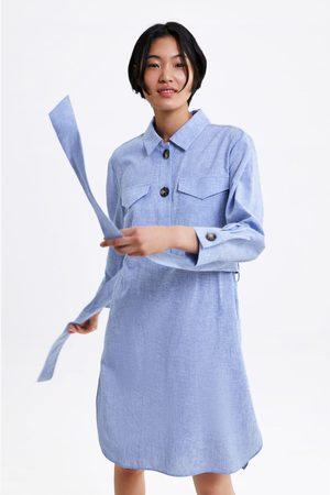 Zara Ženy Tuniky - Tunika s proužky