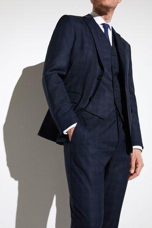 Zara Muži Saka - Kostkované oblekové sako