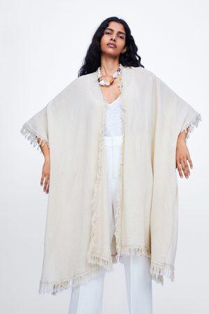 Zara Dlouhé kimono s třásněmi