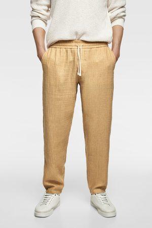 Zara Muži Kalhoty - Rustic jogging trousers