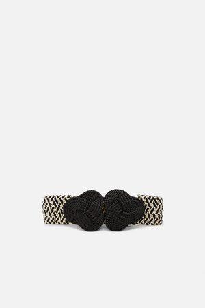 Zara Dvojbarevný elastický pásek
