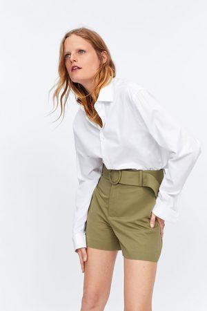 Zara Bermudy s páskem