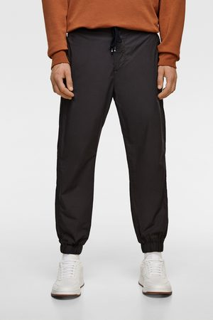 Zara Popelínové kalhoty jogger