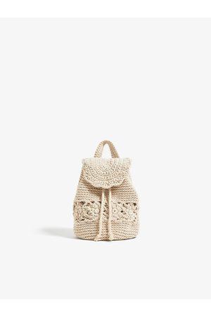 Zara Háčkovaný batoh