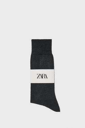 Zara Muži Ponožky - Ponožky z mercerizované bavlny premium