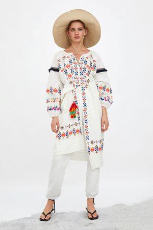 Zara Tunika s barevnými výšivkami