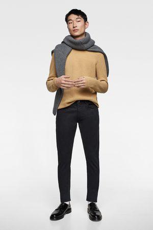 Zara Barevné kalhoty slim