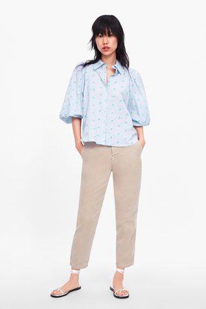 Zara Ženy Chino - Jeans zw premium new chino
