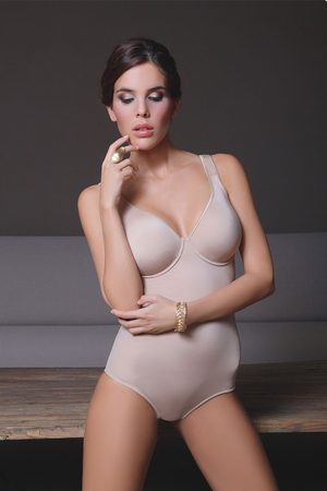 SASSA Ženy Body - Dámské body s podprsenkou Rori Skin
