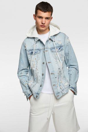 Zara Džínová bunda s kapucí