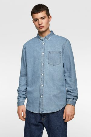 Zara Džínová košile basic