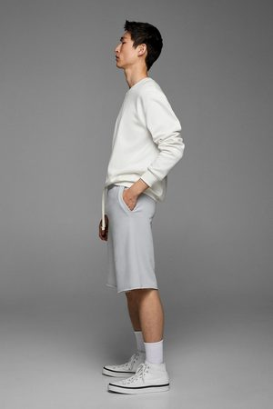 Zara Muži Bermudy - Bermudy jogger basic