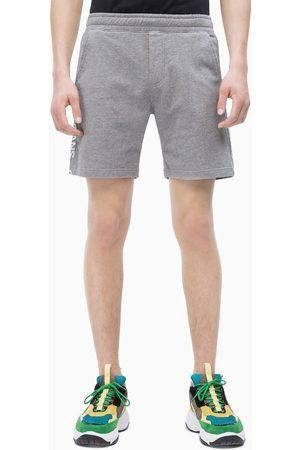 Calvin Klein Pánské šedé bavlněné šortky