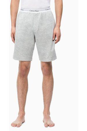Calvin Klein Pánské šedé teplákové šortky