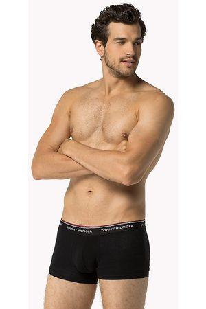 Tommy Hilfiger Sada pánských černých boxerek